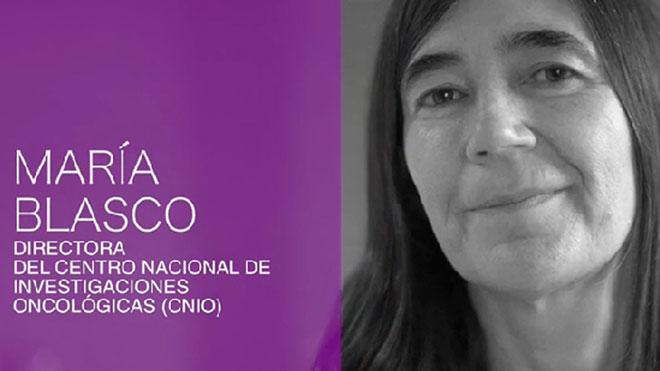 Margarita Salas fue su mentora y referente, y ahora María Blasco, directora del CNIO,también quiere serlo para otras mujeres que han entendido que la ciencia no es 'un asunto de hombres'.