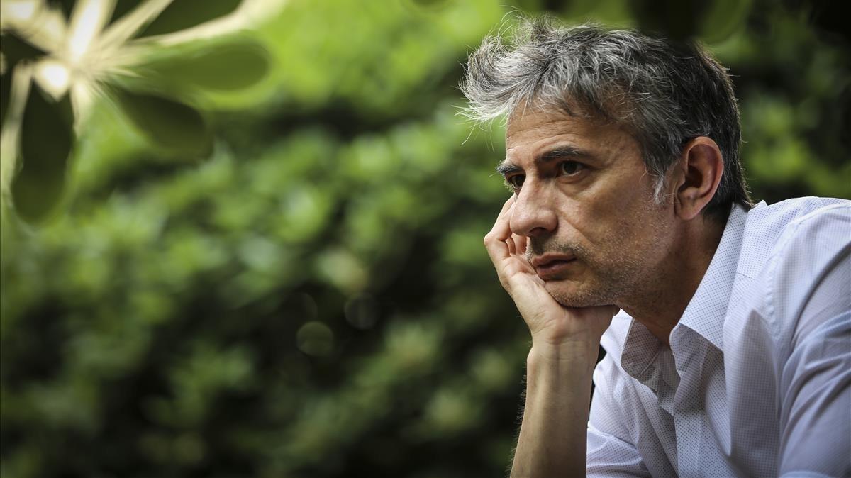 El escritor gallego Juan Tallón.