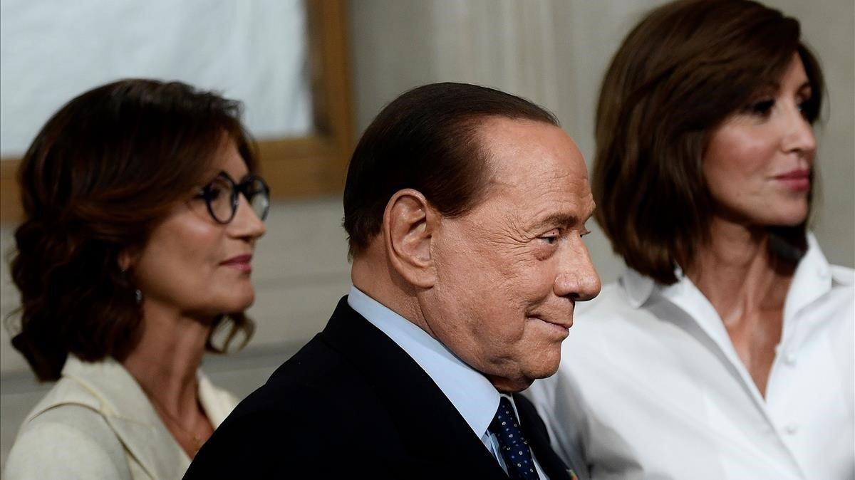 El exprimer ministro italiano Silvio Berlusconi, en una imagen de archivo.