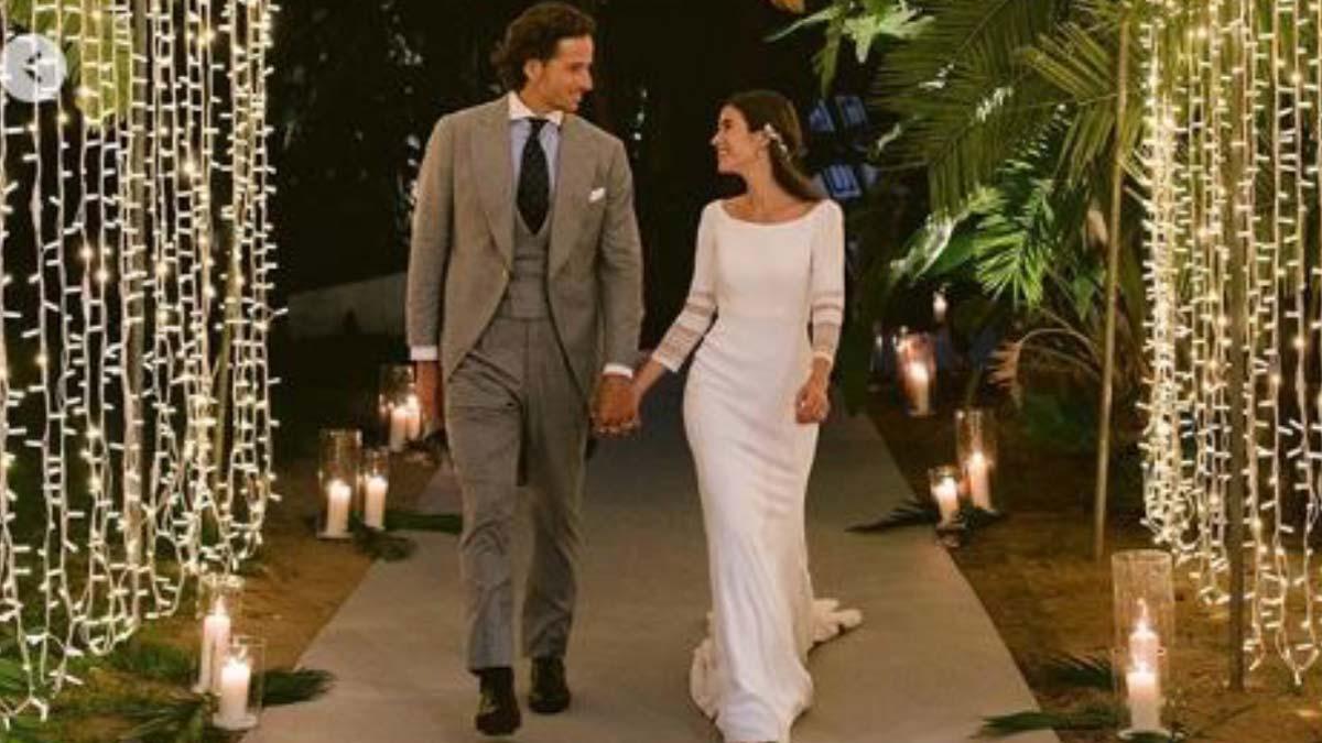 Feliciano López y Sandra Gago comparten un pequeño álbum de su boda.