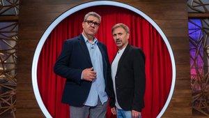 Florentino Fernández y Florentino Fernández en las cocinas de 'Masterchef Celebrity'.