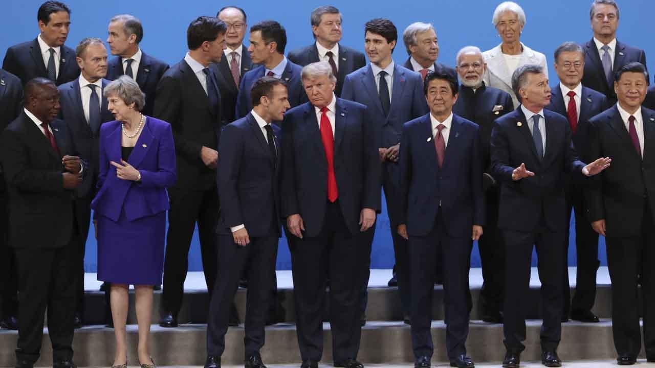 La foto de familia del G-20.