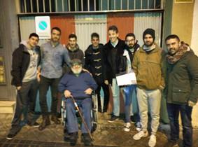 Foto de grupo de Juan y variosusuarios de Forocoches.