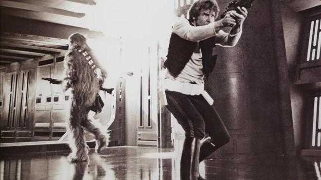 Mi primer recuerdo de 'Star Wars' es...