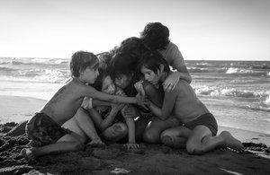 Fotograma de Roma, de Alfonso Cuarón