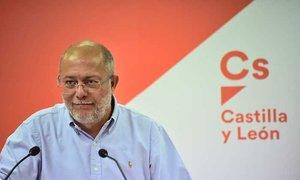 Francisco Igea, vicepresidente de la Junta de Castilla y León y hasta hoy secretario de Programas de Ciudadanos en esa comunidad.