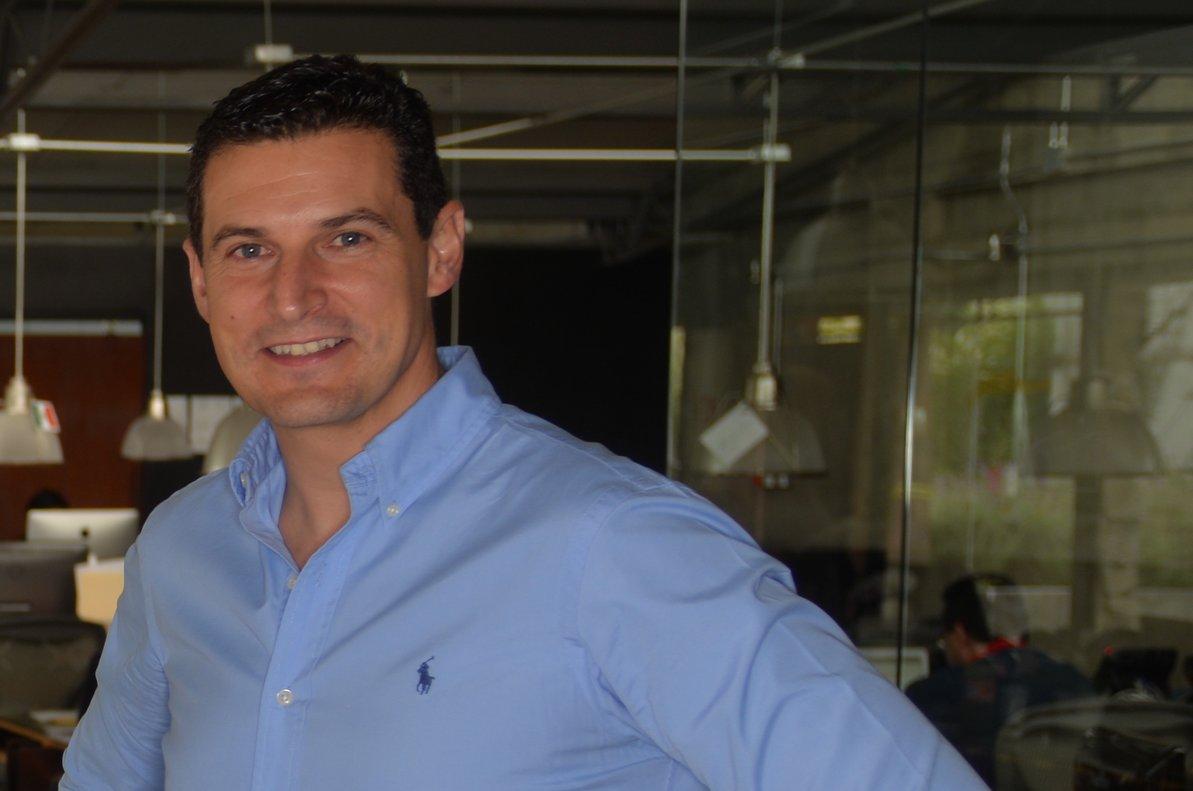 El fundador y consejero delegado de Bewe.io, Diego Ballesteros.