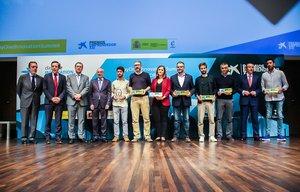 Ganadores de los Premios EmprendedorXXI en la edición del 2019.