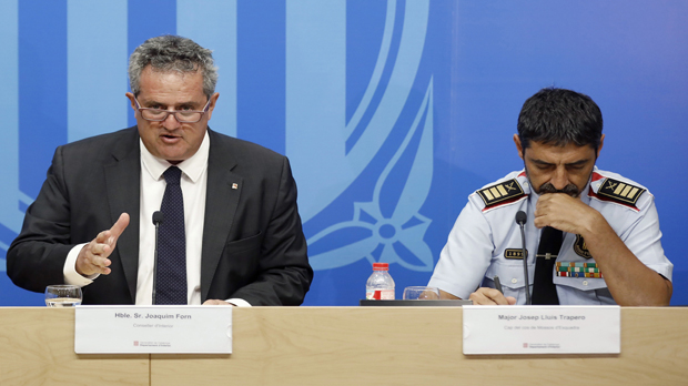 """El Govern admite que recibió el 25 de mayo un aviso """"de baja credibilidad"""" sobre un ataque en la Rambla"""