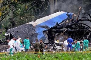 Cuba eleva a 110 la xifra de morts en l'accident d'avió