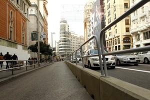 Muere un obrero al caerse por el ascensor en la Gran Vía de Madrid