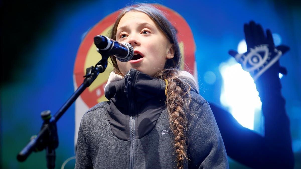 Greta Thunberg, en la Cumbre de Madrid