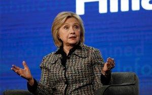 Hillary Clinton durante un evento público.