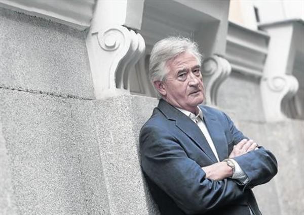El historiador británico Anthony Beevor, el pasado martes, en Madrid.