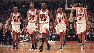 Imagen del documental sobre Michael Jordan y los míticos Chicago Bulls, 'El último baile'.