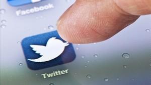 Imagen de Twitter en su aplicación para móviles.