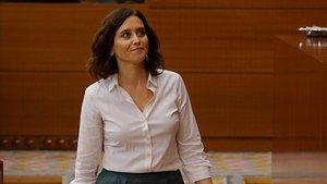 Isabel Díaz Ayuso, presidenta electa de la Comunidad de Madrid.