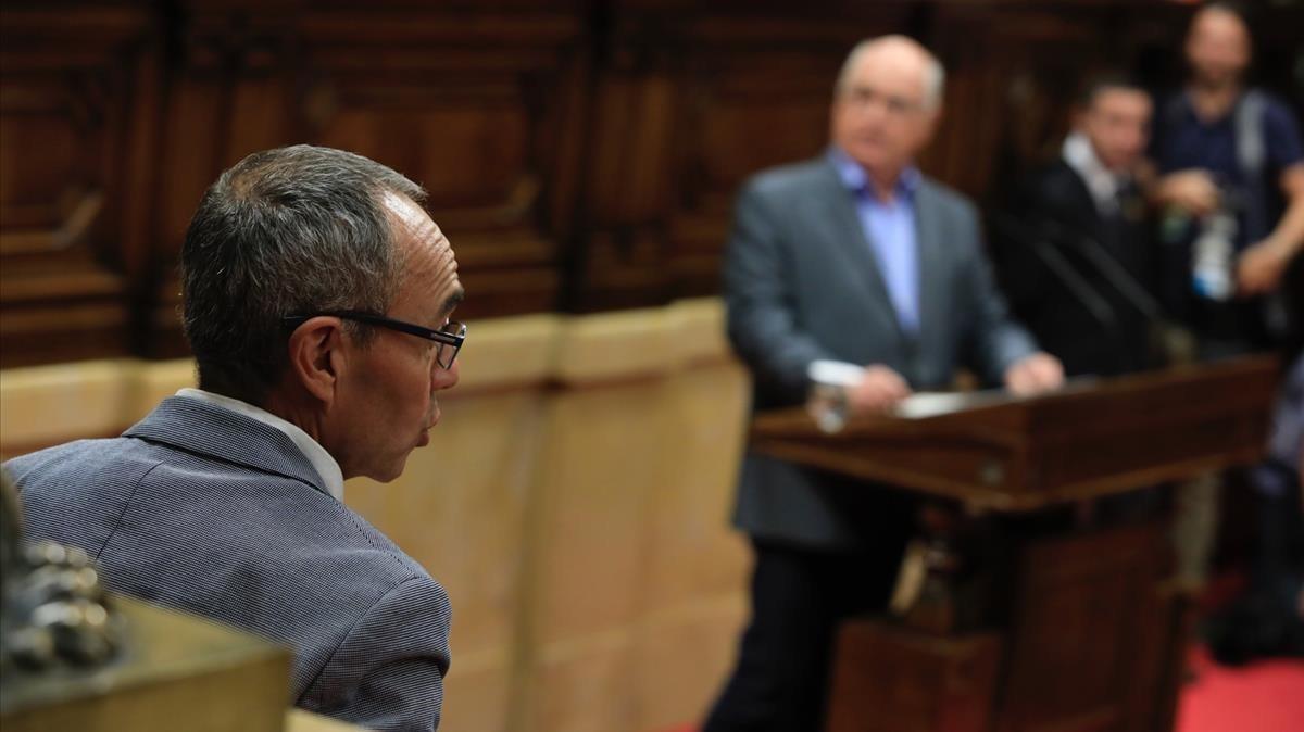 Rabell aplaude que Puigdemont eche el freno