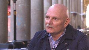 John Hoffman, durante la entrevista en TV-3.