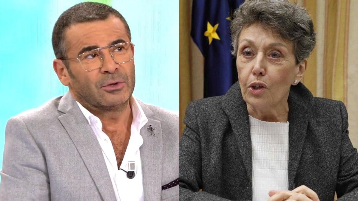 Jorge Javier Vázquez y Rosa María Mateo.