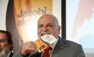 Karl Jacobi presenta su candidatura al Ayuntamiento de Barcelona con el partido Nosotros.