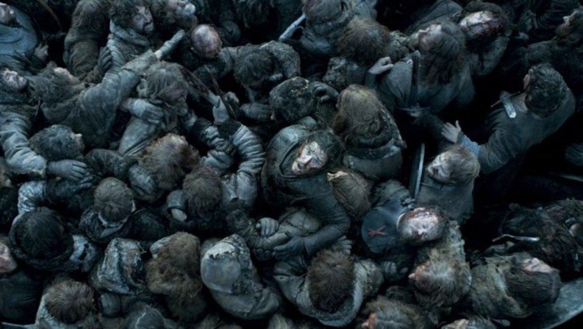 La legendaria Batalla de los Bastardos de 'Juego de tronos'