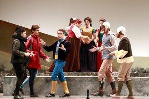 Los Amics de lÒpera de Sabadell estrenan 'Falstaff' en el Teatro La Faràndula.