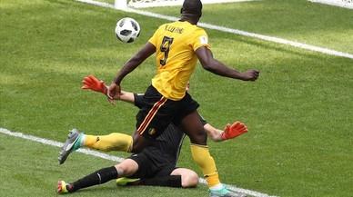 Bélgica se desata ante Túnez con un vendaval ofensivo