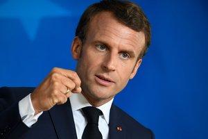 El presidente de Francia,Emmanuel Macron.