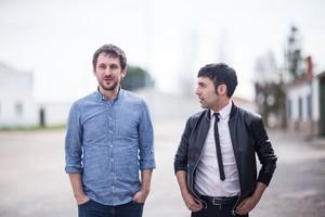 Raúl Arévalo y Antonio Díaz, en una imagen de El Mago Pop: 48 horas con....