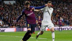 Imagen del último clásico de la Liga en el Bernabéu.