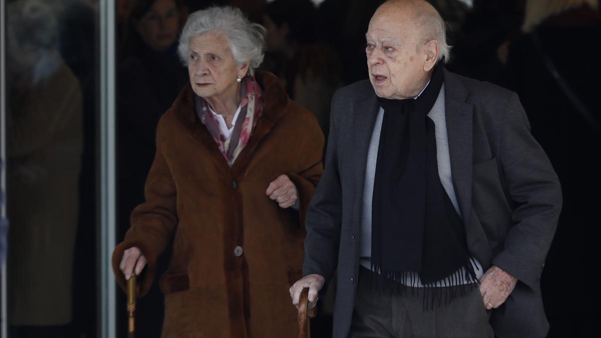 """Marta Ferrusola, """"grave"""" en Vall d'Hebron tras sufrir un accidente"""