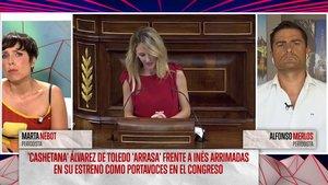 Marta Nebot en 'Todo es mentira'