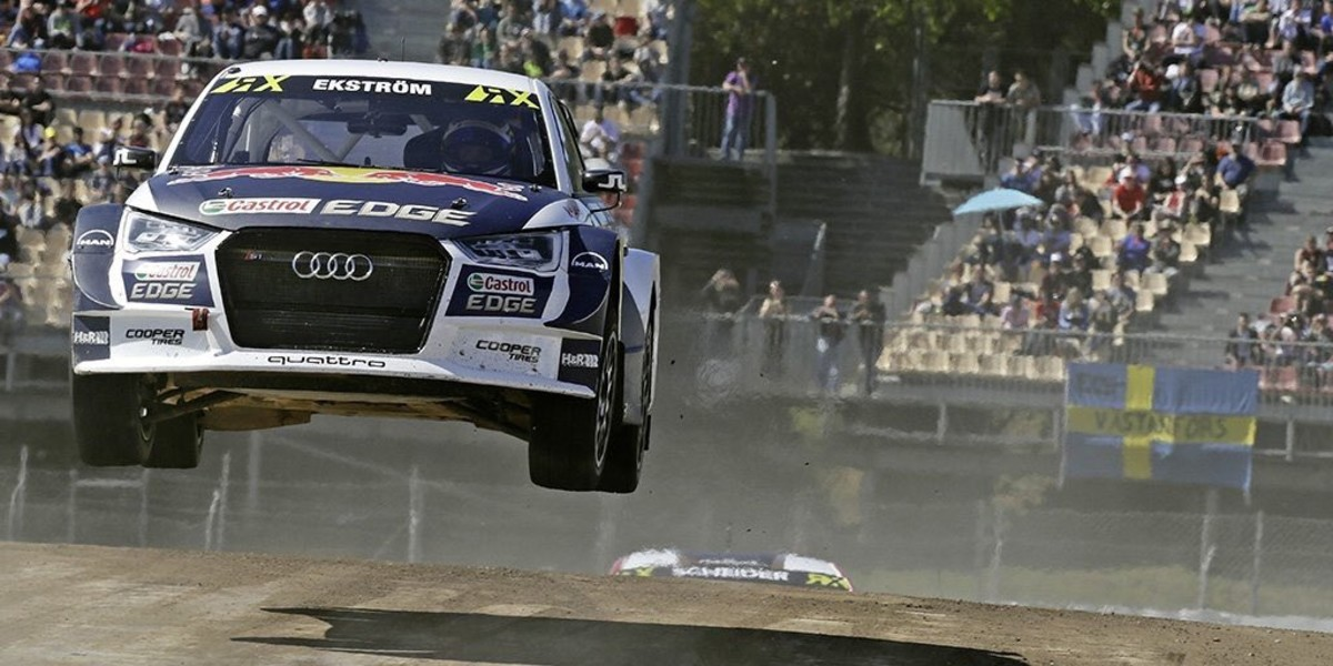 Mattias Ekström triunfa en Montmeló.