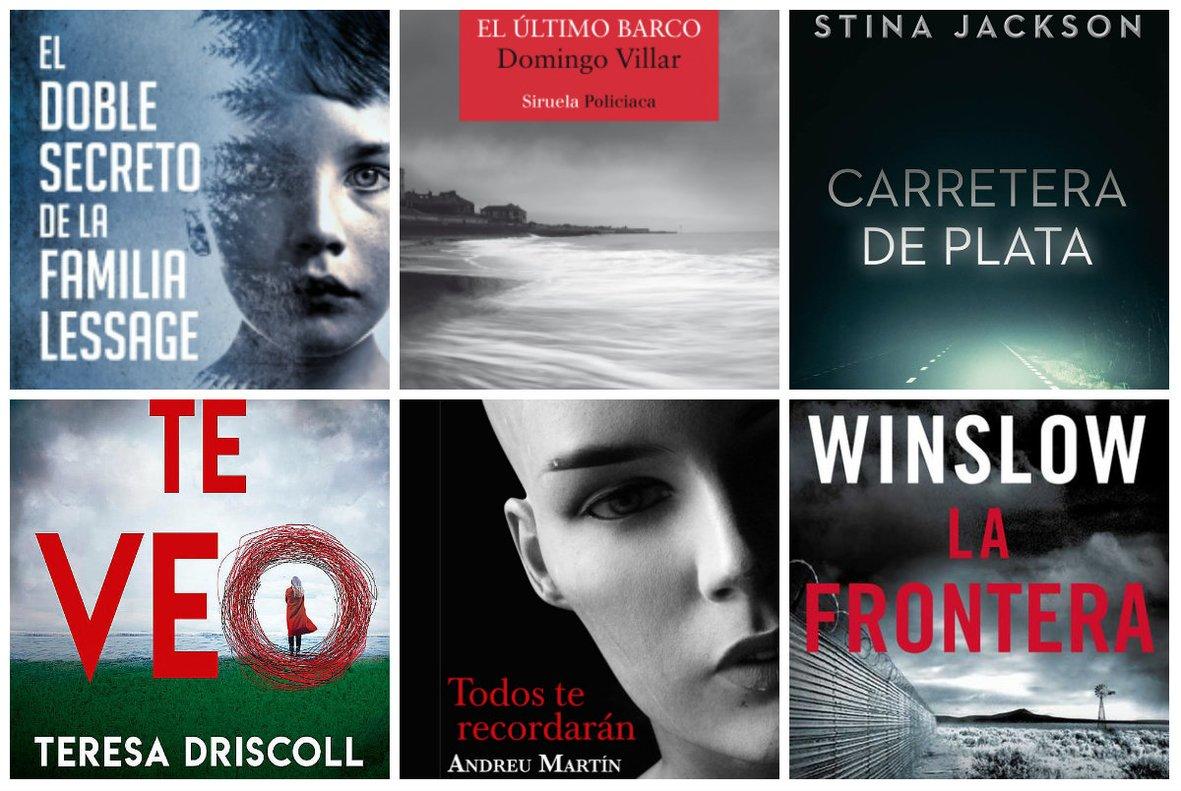 Novela negra: 18 libros recomendados para Sant Jordi 2019