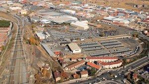Factoría de Nissan en Ávila.