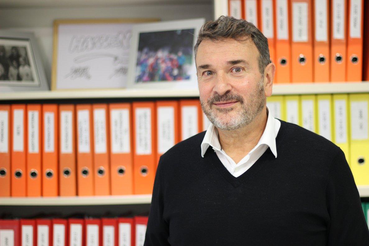 Olivier Longué es director general de Acción contra el Hambre en España.
