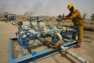 El pozo petrolífero de Bai Hassan, a 225 km de Bagdad.