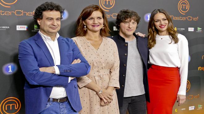 Presentación en Barcelona de la quinta temporada de 'Masterchef'.