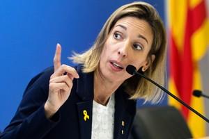La 'consellera' de Empresa de la Generalitat, Àngels Chacón.