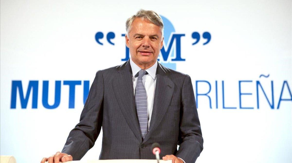 El presidente de esta entidad,Ignacio Garralda.