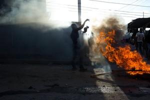 Protestas durante las segundas elecciones presidenciales en Kenia