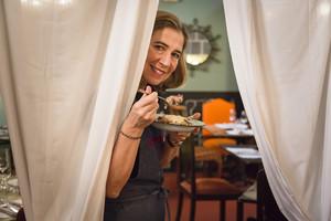 La chef Ada Parellada, en el restaurante Semproniana, que este 2018 cumple 25 años.
