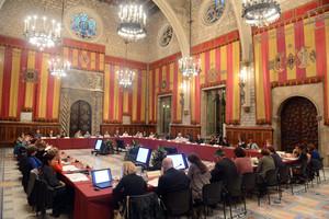 Reunión constitutiva de la mesa de trabajo contra la feminización de la pobreza, el 19 de octubre.