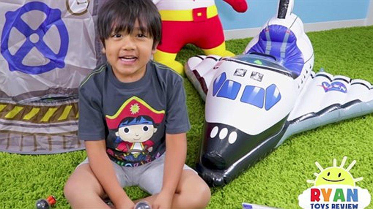 Niño se convierte en el mejor pagado de YouTube