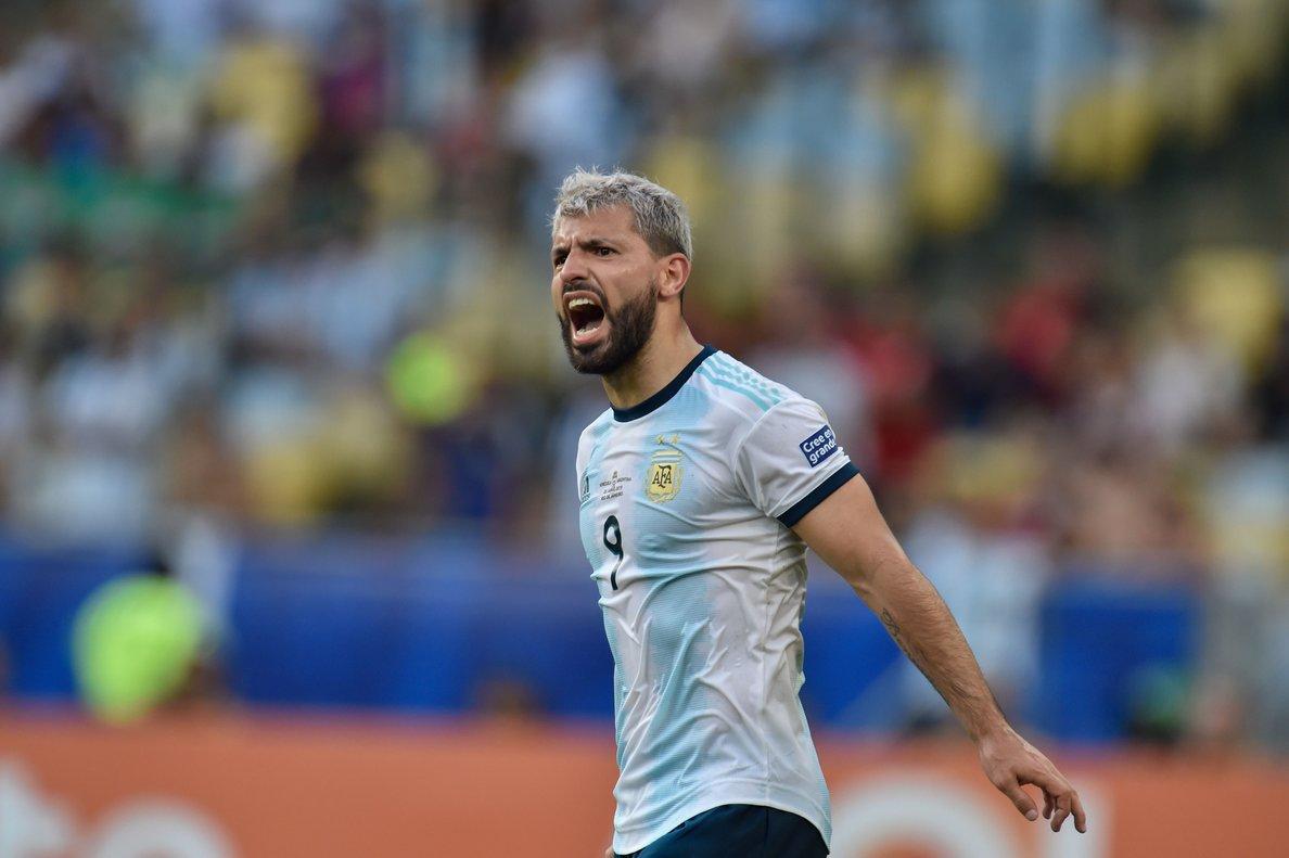 El delantero del Manchester City afirmó que está contento por la clasificación a semifinales de la Copa América.