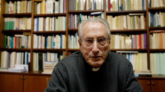 Mor José María Setién, exbisbe de Sant Sebastià