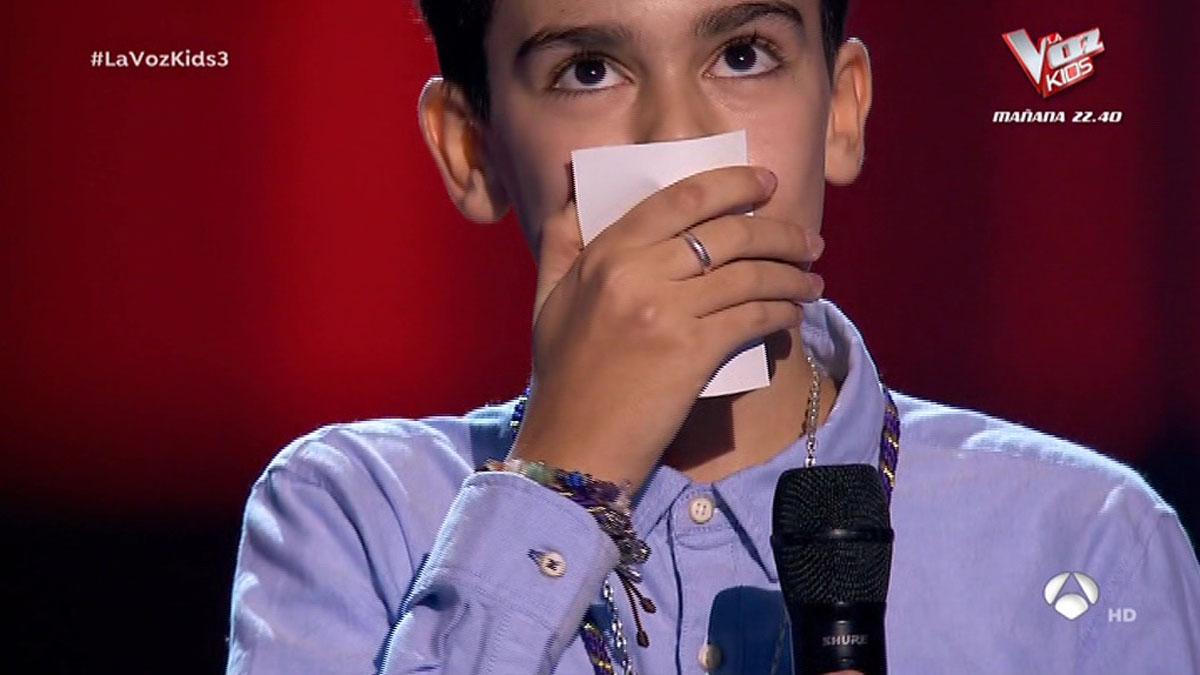 Hugo, de Alcalá de Guadaira ('La Voz Kids').