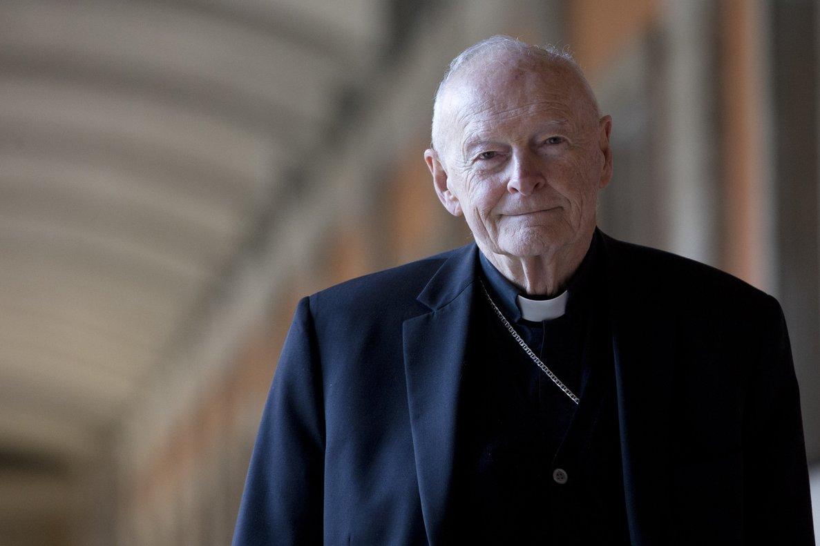 Theodore McCarrick, en Roma, en febrero del 2013.