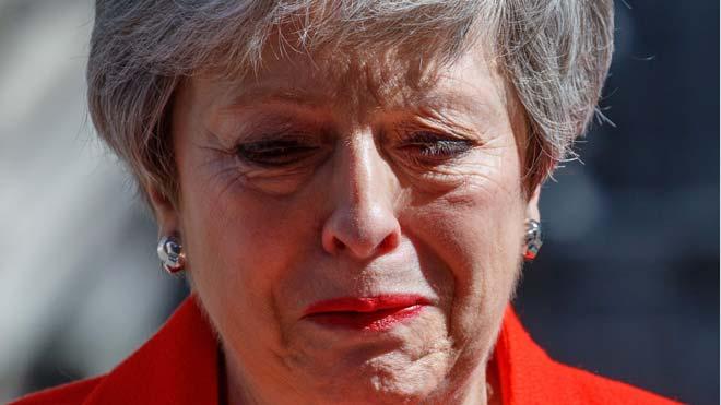 Theresa May anuncia que dejará su cargo el 7 de junio.